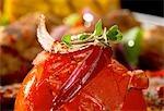 Tomates grillées (gros plan)