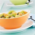 Cornflakes mit Kiwis