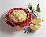 Apple sauerkraut in a dish