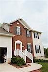 Exterior of House, Winston-Salem, Forsyth County, North Carolina, USA