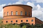 Bibliothèque publique de Stockholm. Architectes : Erik Gunnar Asplund