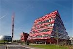 Jubiilee Campus Extension, Université de Nottingham, Nottingham. Architectes : Architectes de Make
