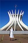 Brasilia Cathedral.  Architects: Oscar Niemeyer