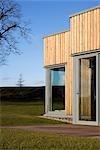 Maison sur la colline, dans l'Aberdeenshire. Architectes : Architectes de Paterson