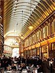 Leadenhall Market, Londres. Architectes : Sir Horace Jones