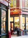 Leadenhall Market, London.  Architects: Sir Horace Jones