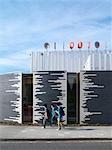Centre for Arts carnaval, Luton Royaume-Uni. Le mondes première construite à cet effet centre carnaval arts et de la formation. Architectes : Ash Sakula Architects