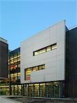 Sénat Université de Liverpool House Library Sydney Jones, Liverpool. Nouvelle bibliothèque de l'Université de Liverpool. Architectes : Shepheard Epstein et Hunter