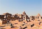 Ruins of temples, Pattadakal, Bagalkot, Karnataka, India