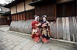 Geisha, Kyoto, Kyoto Prefecture, Kansai Region, Honshu, Japan