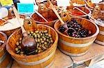 Olives, Salisbury Market, Salisbury, Wiltshire, England