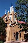 Église de San Felipe de Neri, Old Town, Albuquerque, Nouveau-Mexique, États-Unis