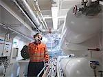 Engineer with Walkie Talkie