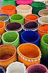 Handmade Baskets at Masai Market, Nairobi, Kenya