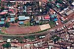 Aerial View of Kibera Slum, Nairobi, Kenya