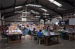 People Making Kazuri Jewelry, Nairobi, Kenya