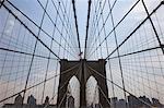 Kabel der Brooklyn Bridge, New York City