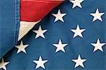Plier le drapeau américain