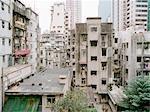 Paysage urbain à Hong Kong, Chine