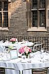 Tabellen-Set für Hochzeitsfeier
