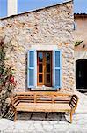 Maison extérieur, Majorque, îles Baléares, Espagne