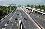 Freeway Leading to Suvarnabhumi Airport, Bangkok, Thailand