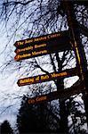 Sign, Bath, Bath and North East Somerset, Somerset, England, United Kingdom