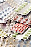 Assortiment de médicaments