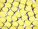 Capsules de Gel de l'huile de foie de morue.