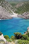 Cala Domestica, Iglesiente, Sulcis-Iglesiente, Sardaigne, Italie