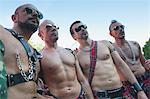 Men at Gay Pride, Madrid, Spain