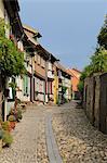 Historic Town, Quedlinburg, Harz District, Harz, Saxony Anhalt, Germany