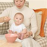 Alimentation bébé de la mère