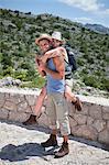 Hiking couple