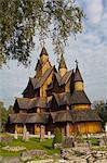 Heddal Stave Church, Heddal, Norway