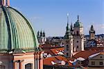 Altstadt Blick von Charles Brige, Prag, Tschechische Republik