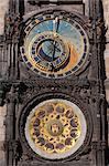 Prague Astronomical Clock, Old Town Square, Old Town, Prague, Czech Republic