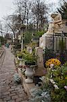 Frederic Chopin-Grab, Friedhof Pere Lachaise, 20. Arrondissement, Paris, France, Frankreich