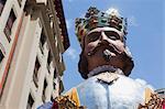 Géants du cortège de Pampelune, Fiesta de San Fermin, Pampelune, Navarre, Espagne