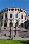 Stortinget, Eidsvolls Plass, Oslo, Norwegen, Norwegen