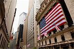 New York Stock Exchange, Wall Street, Manhattan, New York City, New York, États-Unis