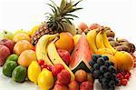 Fruits variés.