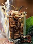 Morceaux de sucre de canne aromatisés à la vanille