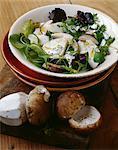 Salade tiède cep