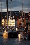 Bryggen, Bergen, Hordaland, Haugesund, Norwegen