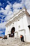 Iglesia de Santo Tomas, Chichicastenango, El Quiche Department, Guatemala
