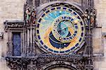 Astronomical Clock, Old Town, Stare Mesto, Prague, Czech Republic