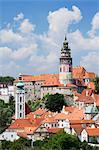 Cesky Krumlov Castle, Cesky Krumlov, South Bohemian Region, Bohemia, Czech Republic