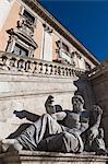Musées du Capitole, place du Capitole, Rome, Italie
