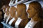 Hall des philosophes, musées du Capitole, place du Capitole, Rome, Italie